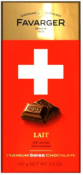 Favarger Premium au Lait - Milchschokolade