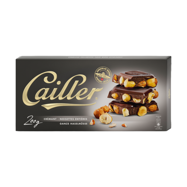 Cailler Crémant ganze Haselnüsse