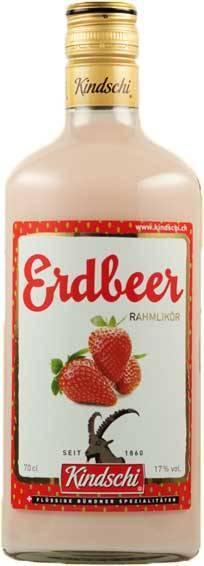 Kindschi Erdbeer Rahmlikör