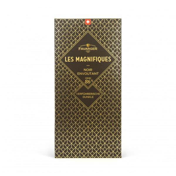 Favarger Les Magnifique Noir 86%